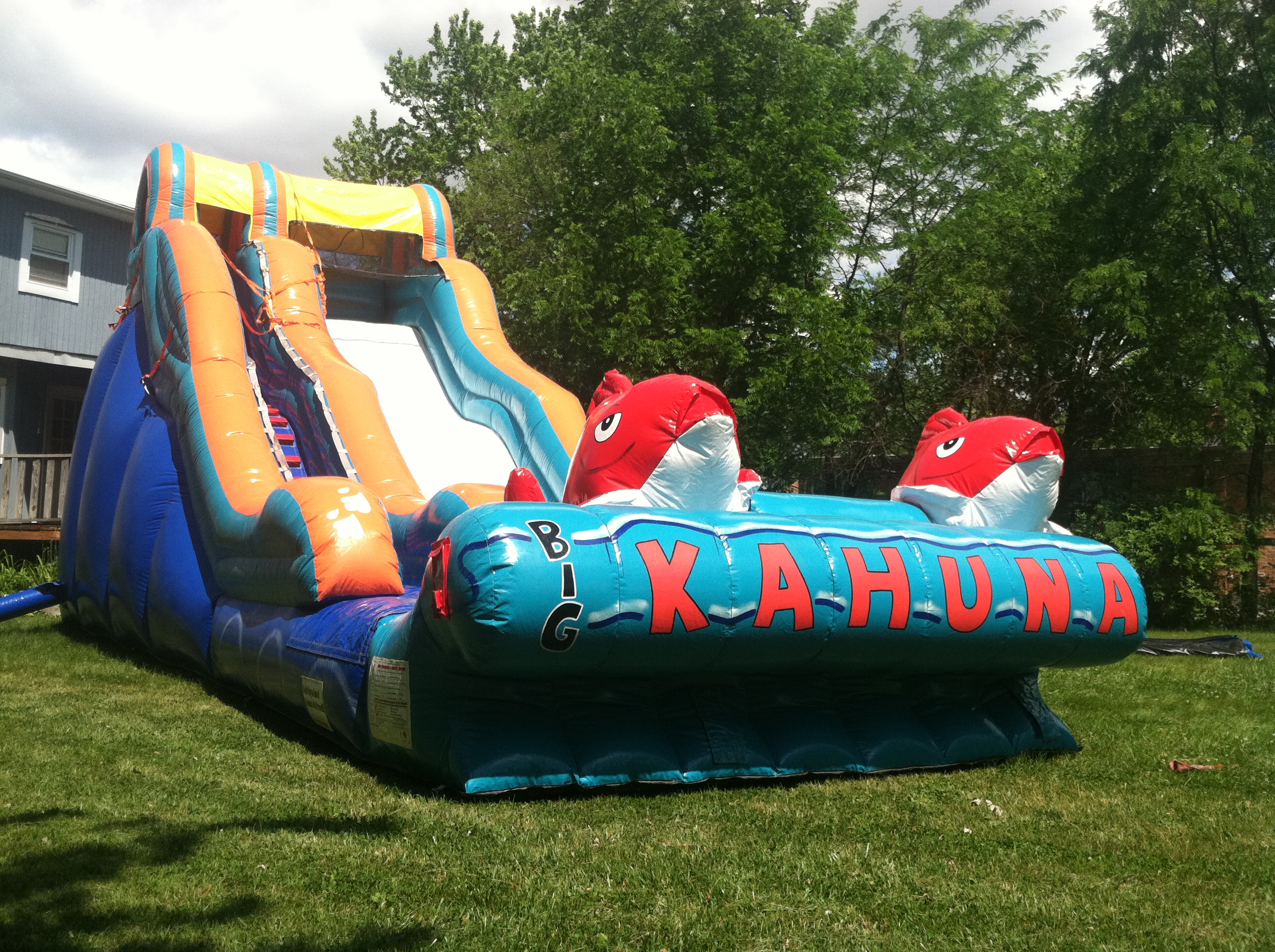rent a big kahuna water slide