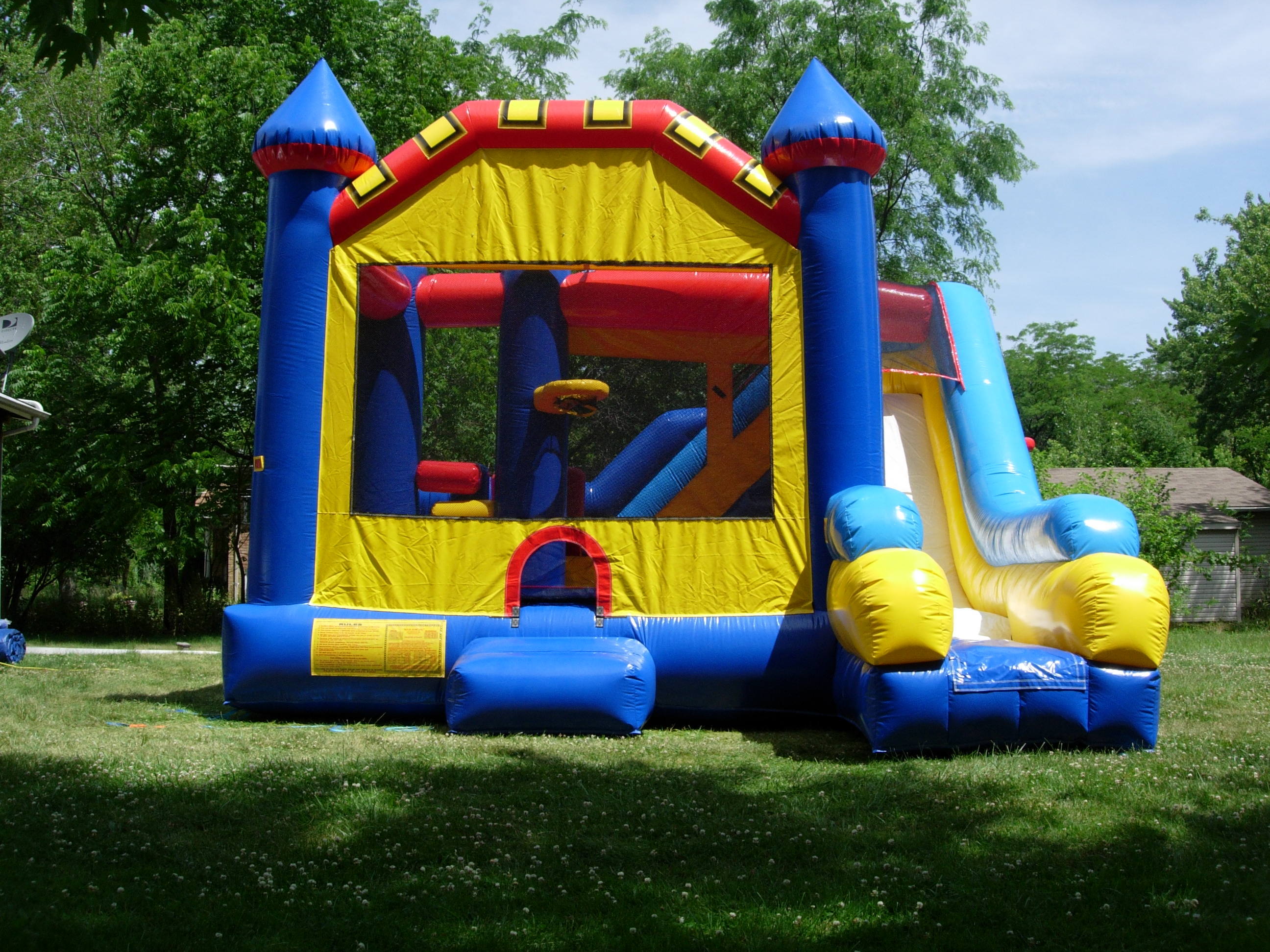 Combo bounce house rentals fort myers