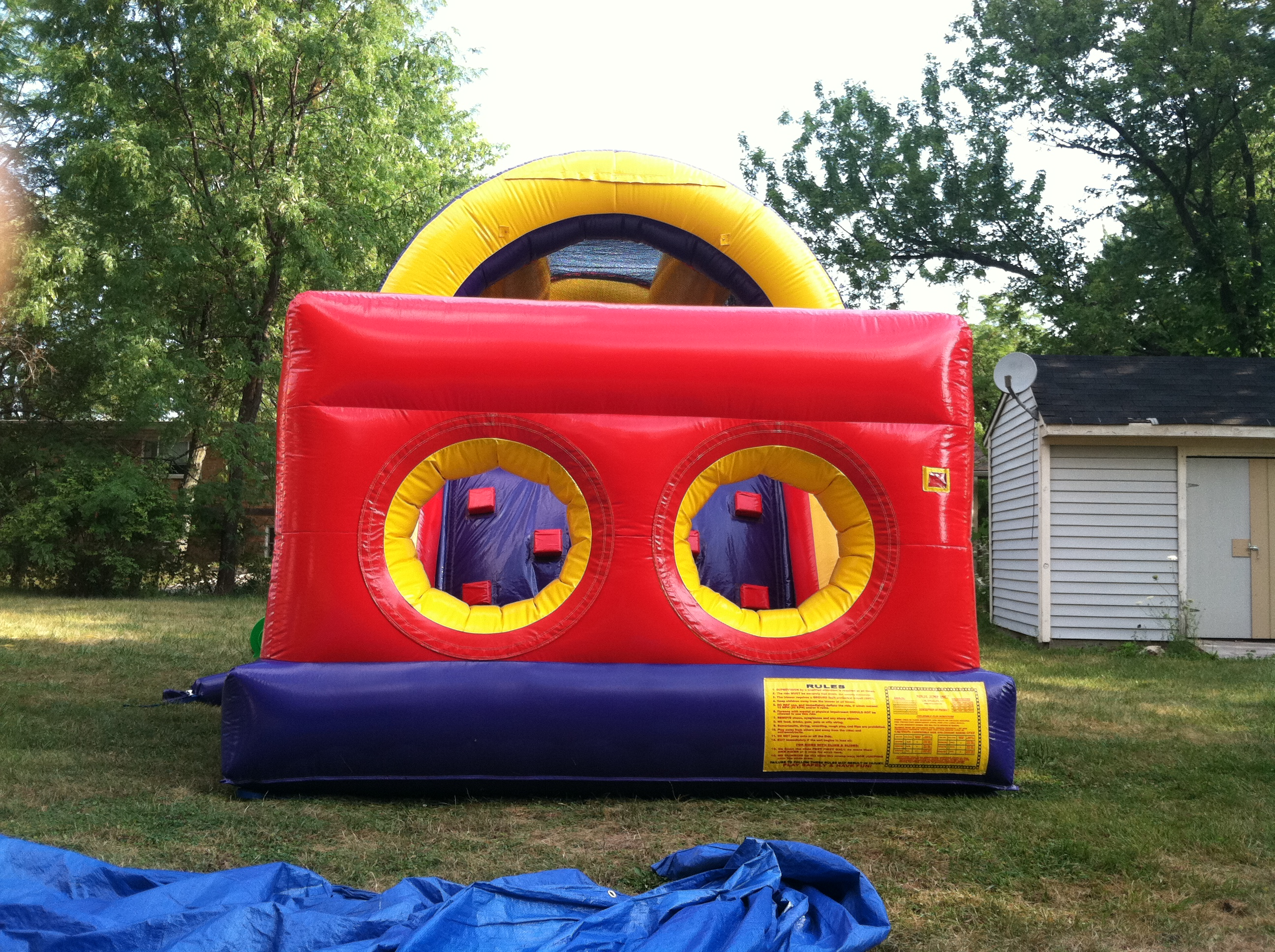 inflatable bounce house obstacle course bonita springs fl