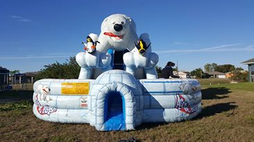 Cape Coral | Ft Myers | inflatable water slide and bounce house rentals
