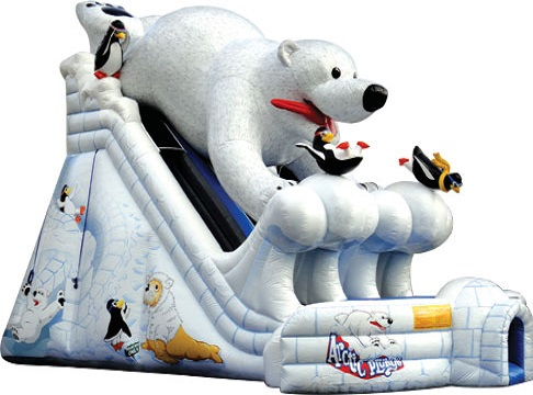 Arctic Plunge Inflatable Slide Rental | Ft Myers | Cape Coral | Naples