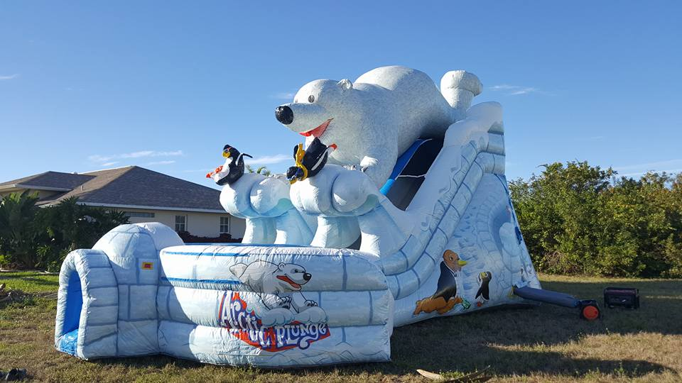 inflatable water slide | Ft Myers | Naples FL